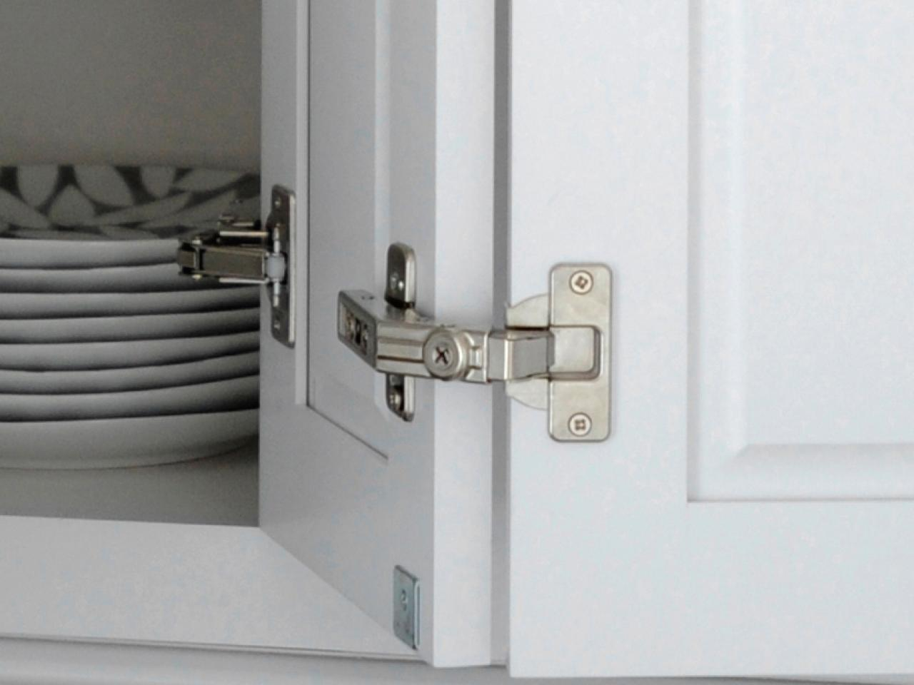 Concealed Hinges On Kitchen Cabinets